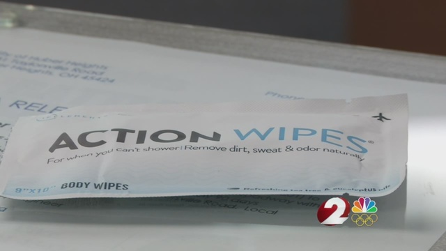 Huber Heights church donates wipes to help firefighters prevent cancer