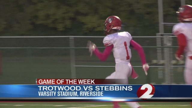 Operation Football Game of the Week 8: Trotwood vs. Stebbins