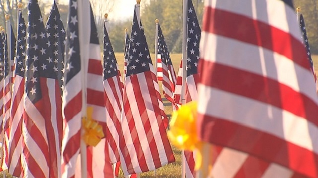 Field of honor on display in Tennessee