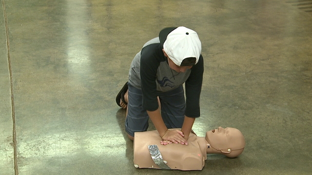 Boy, 10, learns CPR to save others after cardiac arrest