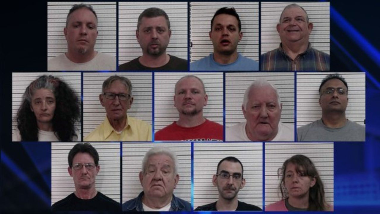 13 Arrested During 2 Day Chillicothe Human Trafficking Prostitution Operation