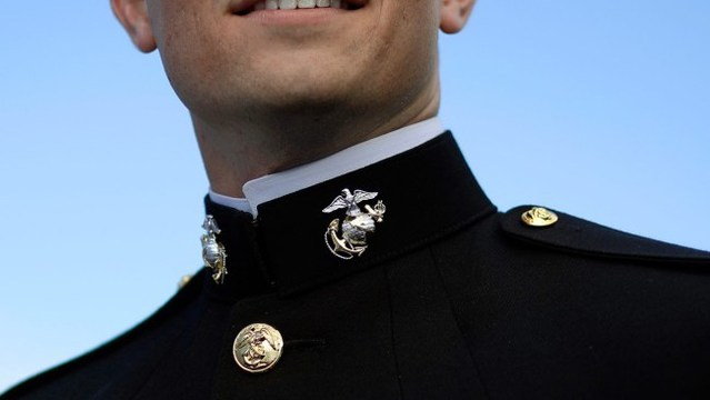 High school bars Marine from graduation day over uniform