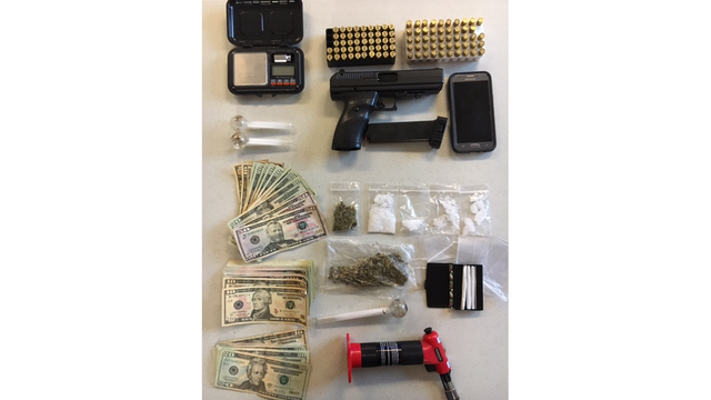 Darke County drug raid uncovers meth, handgun and cash