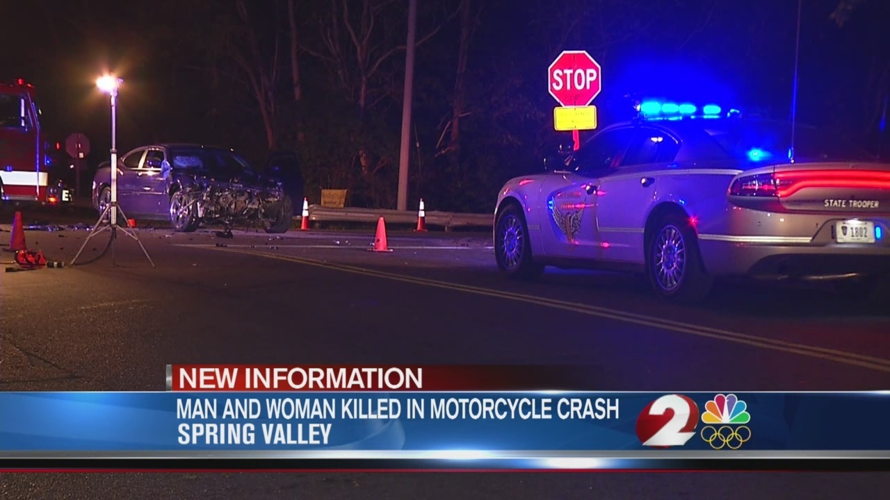 Man and woman killed in motorcycle crash identified