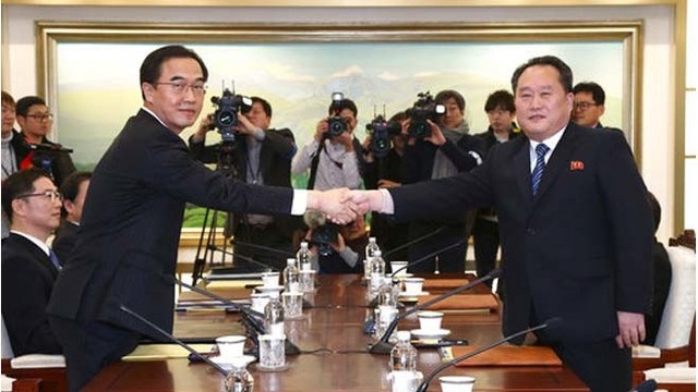 North Korea taking part in South Korean Olympics after talks