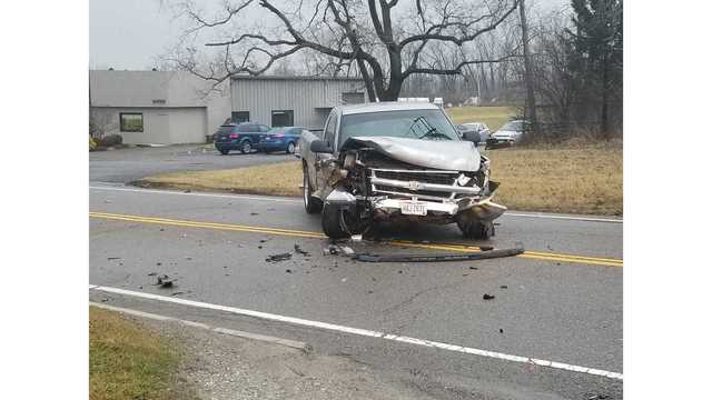 Driver tries to run after crash in Vandalia