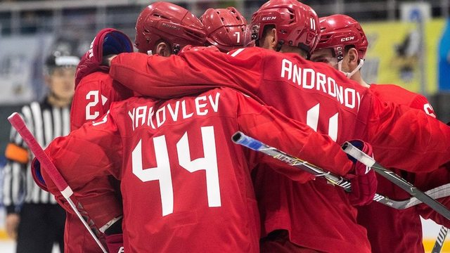 OAR finds offensive tough in 8-2 rout over Slovenia