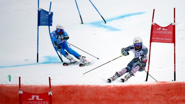 What is the Alpine skiing team event?