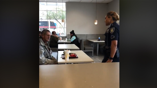 Police respond to video of homeless man kicked out of Myrtle Beach McDonald's
