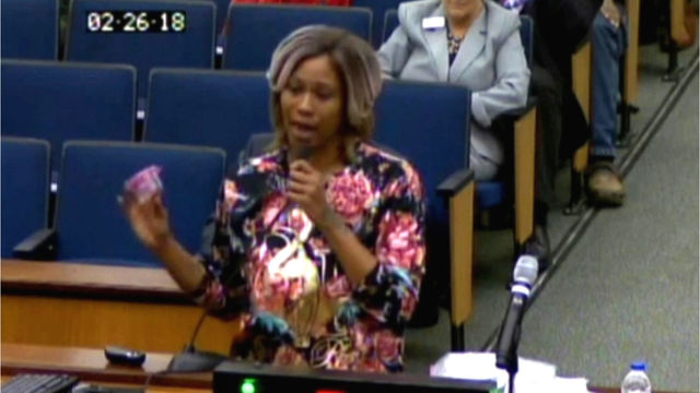 Mother upset with living conditions puts fetus on display during council meeting