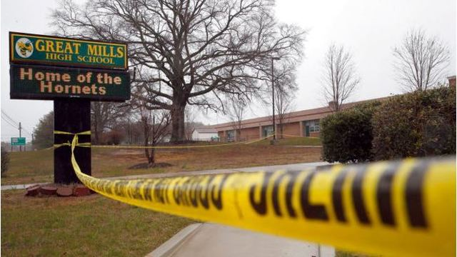 Maryland High School Shooter Shot Himself in the Head, Authorities Say