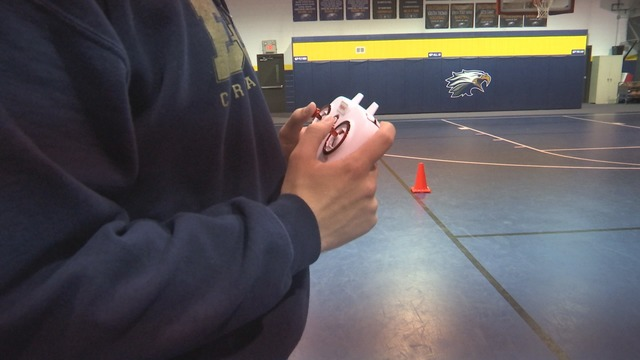 Drone course taking off at East Dayton Christian School