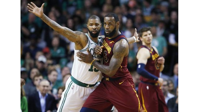 Cavs fall to Celtics in opener of Eastern Finals