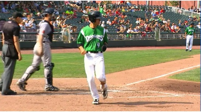 Dragons doubled-up by Hot Rods 8-4 on Sunday