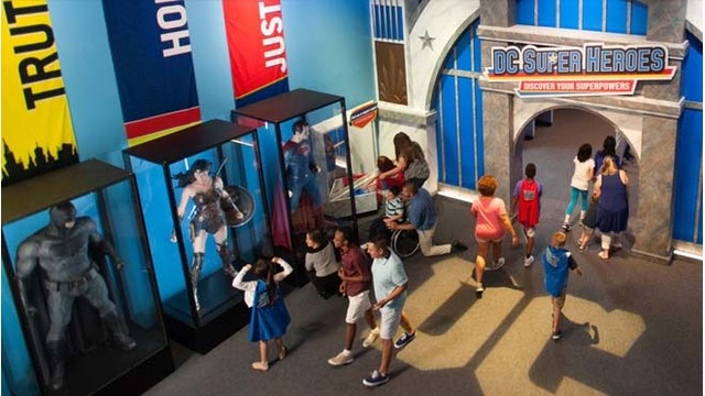 Super heroes save summer at the Children's Museum of Indianapolis