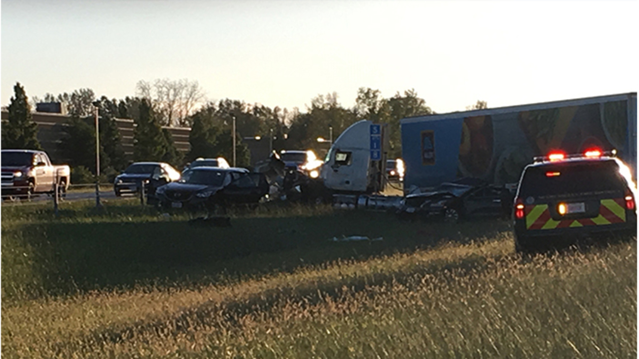 Victim identified in deadly crash on I-675 in Washington Township