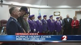 Veterans Voices: Purple Heart cities on the rise in Ohio