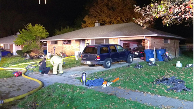 Officials revive dog after house fire in Huber Heights