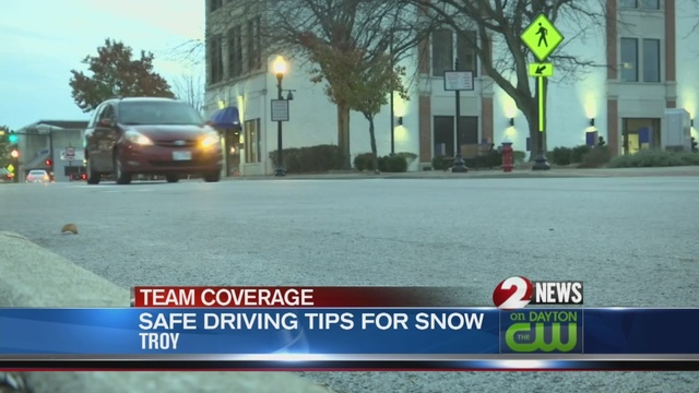 AAA reminds drivers to be careful on slick roads