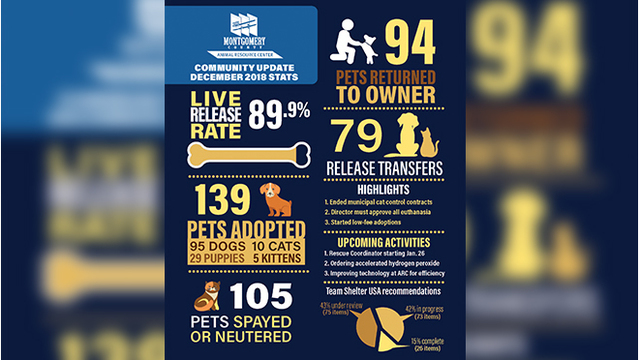 Animal Resource Center reports progress since Team Shelter USA review