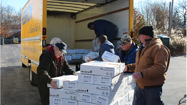 Cooper Farms donates over 200,000 lbs. of meat to area food banks