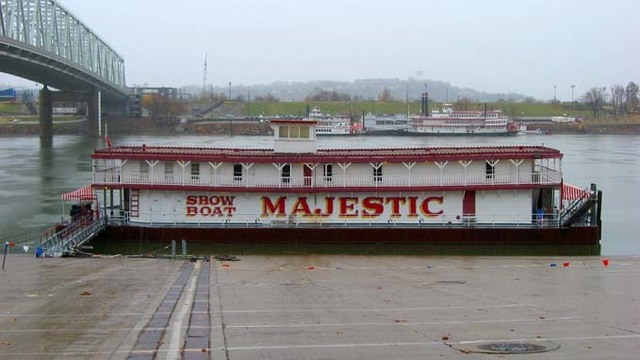 Historic showboat theater on Ohio River sold for $110,100