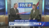 Mayor Whaley speaks on water outage
