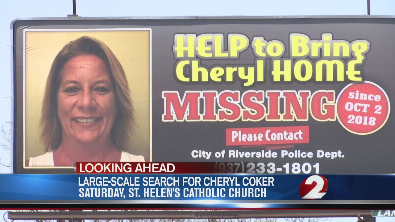 Large Cheryl Coker search planned for Saturday