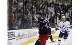 Blue Jacket blitz: Columbus sweeps Tampa Bay with 7-3 win