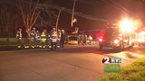 Crews cut woman out of car after crash in Dayton