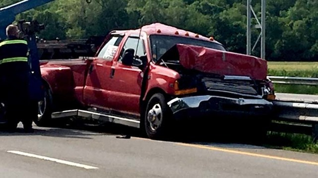 Westbound US-35 reopened after crash in Greene County