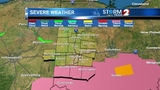 Another round of severe weather on Sunday