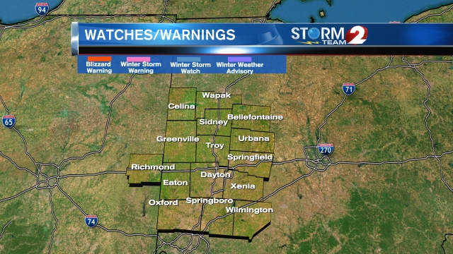 Winter Watches and Warnings